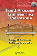 Food Process Engineering Operations PDF