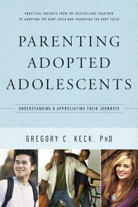 Parenting Adopted Adolescents Book