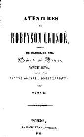 Aventures de Robinson Crusoé: Volume2