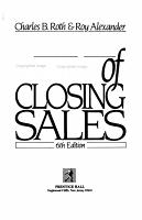 Secrets of closing sales PDF