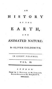 An History of the Earth and Animated Nature: Volume 3