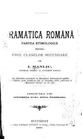 Curs practic și gradat de gramatica Românǎ ...