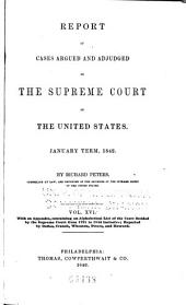 United States Reports: Cases Adjudged in the Supreme Court, Volume 41