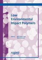 Low Environmental Impact Polymers PDF