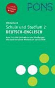 PONS W  rterbuch f  r Schule und Studium Englisch  2  Deutsch   Englisch    Rund 145 000 Stichw  rter und Wendungen mit elektronischem W  rterbuch auf CD ROM  PDF