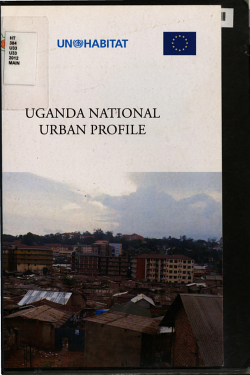 Uganda National Urban Profile PDF
