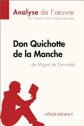 Don Quichotte de la Manche de Miguel de Cervantès (Analyse de l'oeuvre): Comprendre la littérature avec lePetitLittéraire.fr