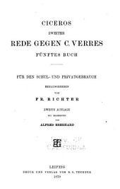 Ciceros zweiter Rede gegen C. Verres fünftes Buch