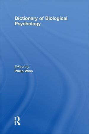 Dictionary of Biological Psychology PDF