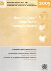 Estupefacientes: previsiones de las necesidades mundiales para 2006