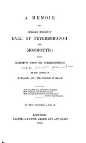 A memoir of Charles Mordaunt, earl of Peterborough and Monmouth: Volume 2