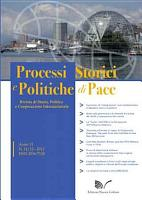 Rivista Processi storici e politiche di pace n  11 12 2012 PDF