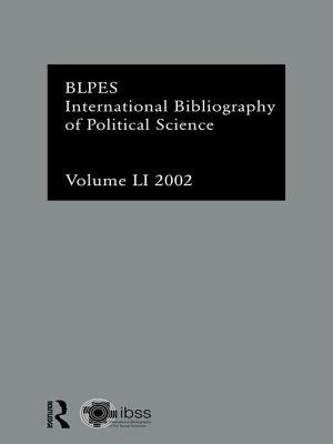 IBSS  Political Science  2002 Vol 51