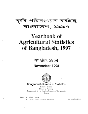 The Yearbook of Agricultural Statistics of Bangladesh PDF