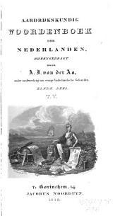 Aardrijkskundig woordenboek der Nederlanden: Volume 11