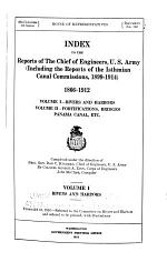 Report of the Chief of Engineers