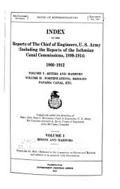 Report of the Chief of Engineers: Volume 1