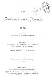 The Congregational Review: Volume 11