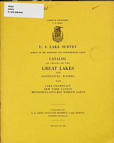 Catalog of Charts of the Great Lakes and Connecting Waters PDF