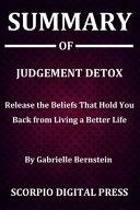 Summary Of Judgement Detox