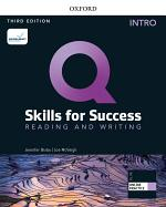 Q: Skills for Success Intro Level Reading & Writing Student's Book