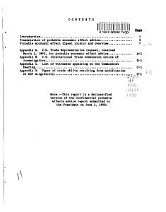 President s List of Articles which May be Designated Or Modified as Eligible Articles for Purposes of the U S  Generalized System of Preferences Book