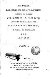 Historia del caballero Carlos Grandisen, 1
