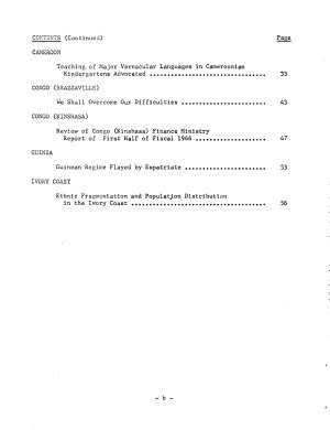 Translations on Sub Saharan Africa PDF