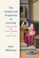 The Intellectual Properties of Learning PDF