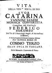 Vita delle ... Catarina Vannini Sanese