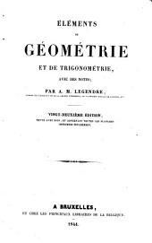 Eléments de géométrie et de trigonométrie