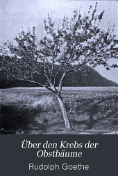 Über den Krebs der Obstbäume