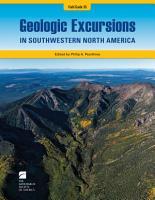 Geologic Excursions in Southwestern North America PDF