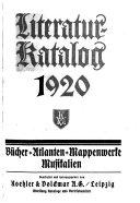 Deutscher Literatur Katalog PDF