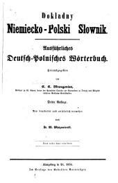 Ausführliches deutsch-polnisches Wörterbuch