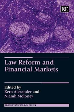 Law Reform and Financial Markets PDF