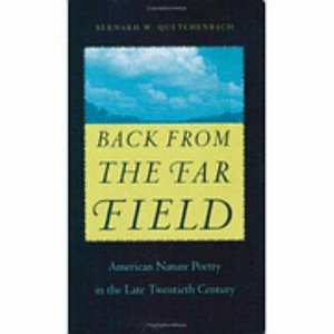 Back from the Far Field Book
