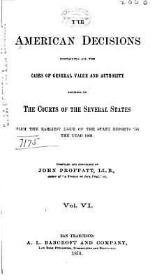 The American Decisions