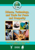 Science  Technology  and Trade for Peace and Prosperity PDF