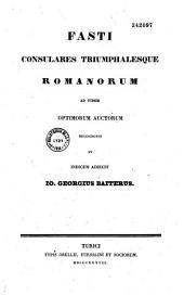Onomasticon Tullianum continens M. Tulli Ciceronis vitam, historiam litterariam, indicem geographicum et historicum, indicem legum et formularum, indices graecolatinum, fastos consulares