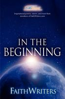Faithwriters   In the Beginning PDF