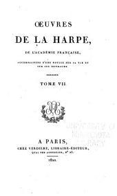 Oeuvres de La Harpe: Les douze Césars, traduits de Suétone