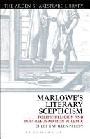 Marlowe   s Literary Scepticism PDF