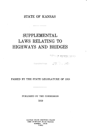 Laws Relating to Roads and Bridges