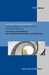 Forschung und Beratung – Das Zentrum für Evaluation und Methoden: . E-BOOK