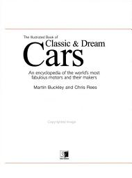 The Illustrated Book of Classic   Dream Cars PDF