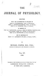 The Journal of Physiology: Volume 15