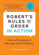 Robert s Rules of Order in Action
