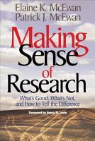Making Sense of Research PDF