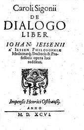 De dialogo liber